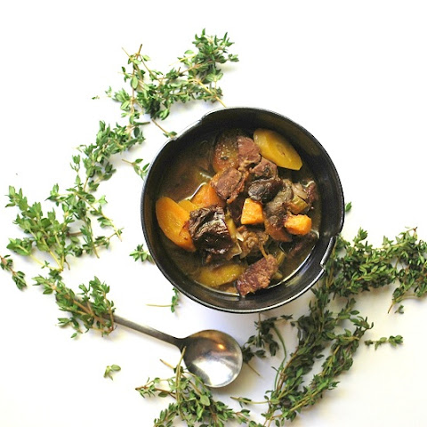 Hunger Games Lamb Stew w/ Dried Plums (Dairy & Gluten-Free)