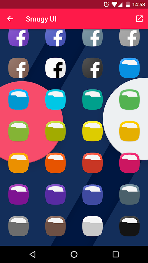 Smugy (Grace UX) - Icon Pack Screenshot 5