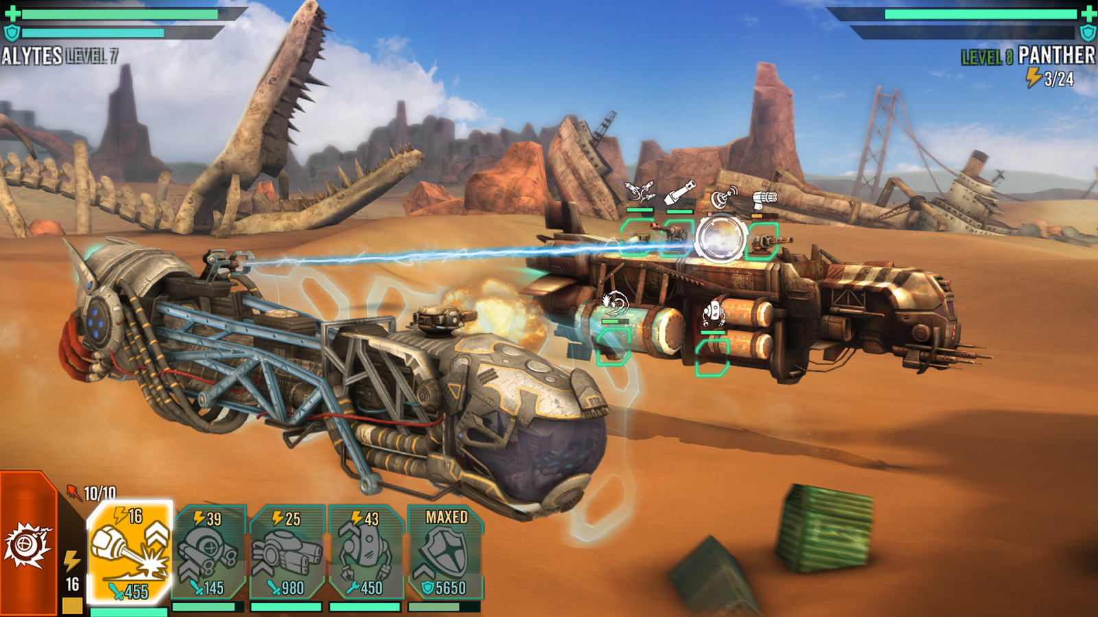 Sandstorm: Pirate Wars Screenshot 5
