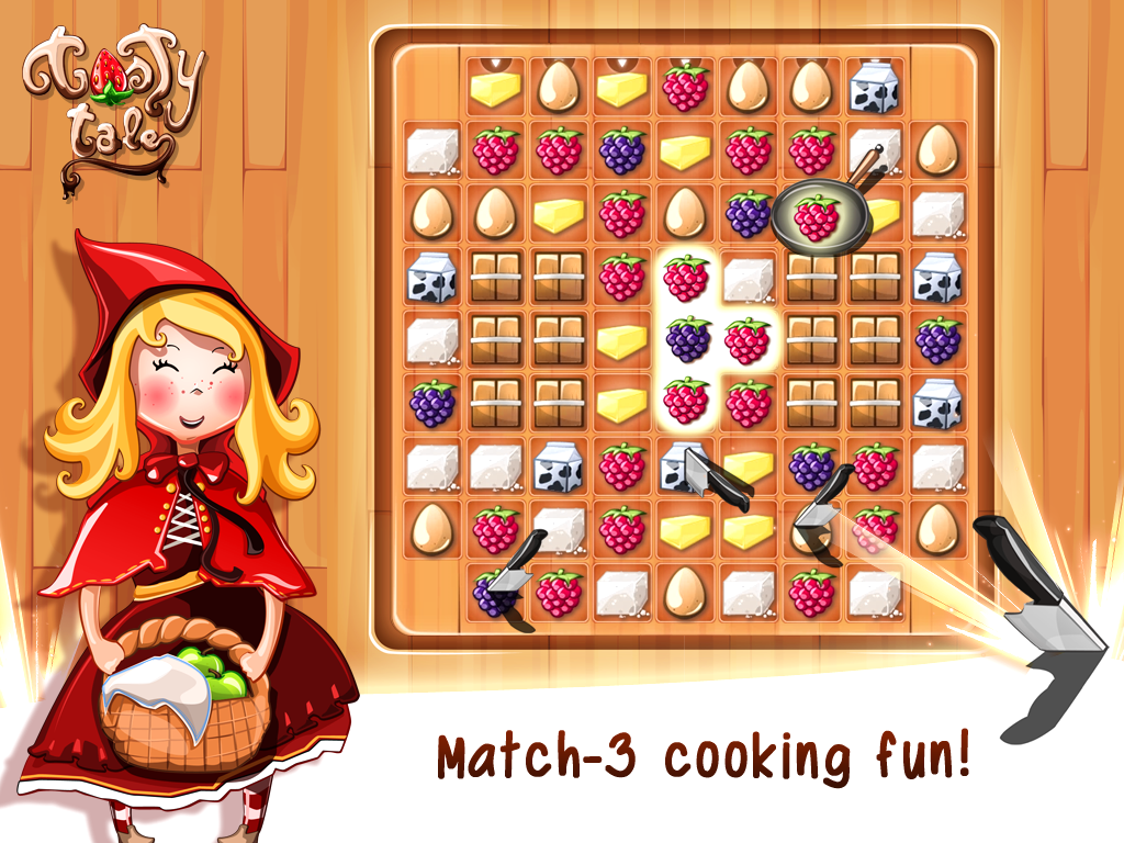 Tasty Tale:puzzle cooking game Screenshot 5