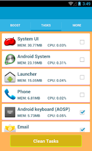 RAM OPTIMIZER PRO - screenshot