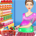 Supermarket Mom Food Shopping APK for Bluestacks