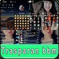 Transparent bbm Hitz APK for Bluestacks