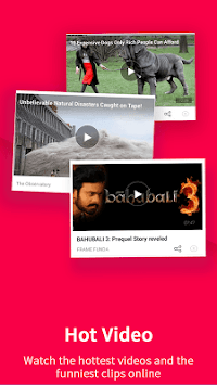 UC News - News, Video, Cricket APK screenshot thumbnail 4
