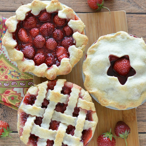Mini Fresh Strawberry Pies