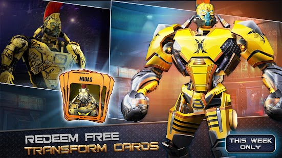 Game Real Steel World Robot Boxing APK for Kindle