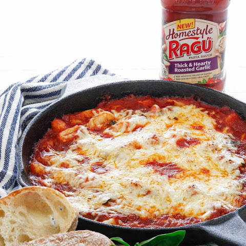 Baked Gnocchi with Ragú Homestyle Pasta Sauce