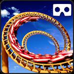 VR Roller Coaster Simulator : Crazy Amusement Park Icon