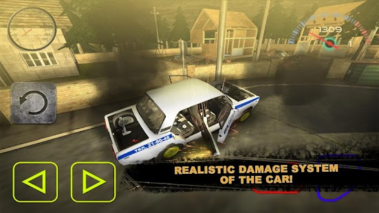 Car Police Total Destruction - screenshot