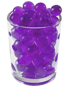Гидрогелевые шарики L, розовые
