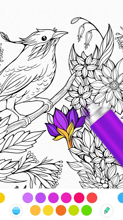 InColor - Coloring Books Screenshot 4