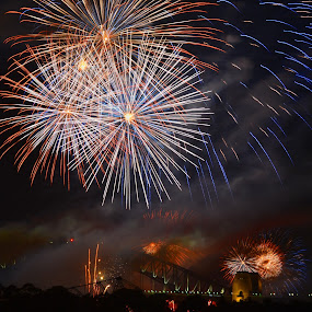 Final Fire by Kamila Romanowska - Public Holidays New Year's Eve ( new year, australia, nye, fireworks, celebration, sydney,  )