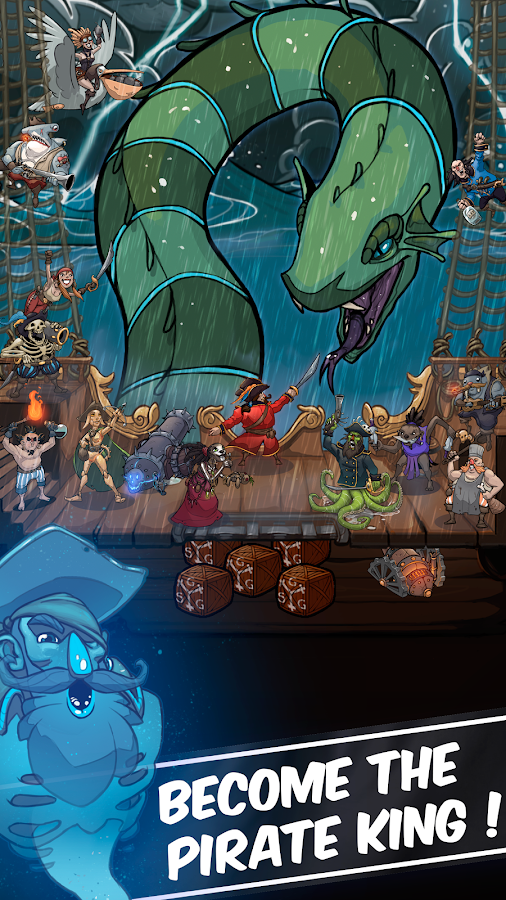 Clicker Pirates - Tap to fight Screenshot
