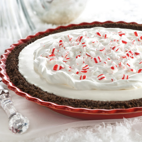 Peppermint Snow Pie
