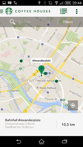 Starbucks Deutschland screenshot 4