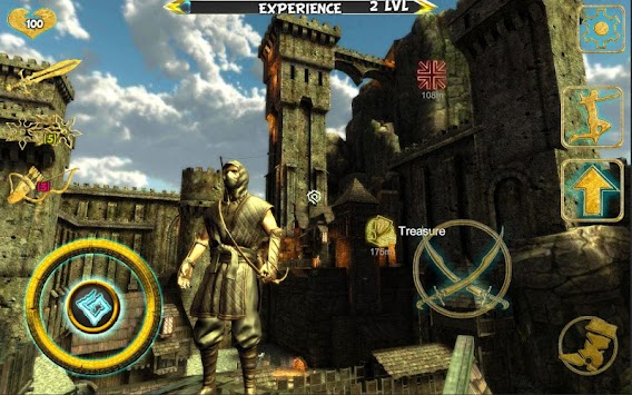 Ninja Samurai Assassin Hero IV Medieval Thief APK screenshot thumbnail 9