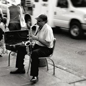 by Dan Miller - City,  Street & Park  Street Scenes