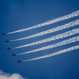 Aerial Display #1 by Koh Chip Whye - Transportation Airplanes (  )
