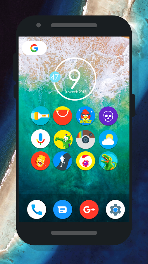 Oreo 8 - Icon Pack Screenshot 1