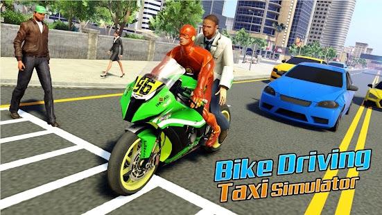 Superhero Bike Taxi Simulator: Bike Driving Games for pc