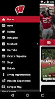Screenshot of Badger Gameday