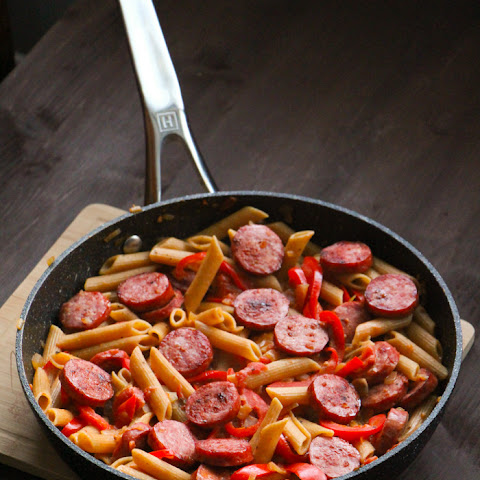 Spicy Sausage & Peppers Penne