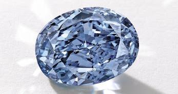 Botswana unveils rare 20-carat blue diamond