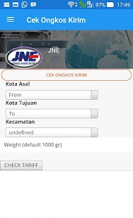 App Cek JNE apk for kindle fire