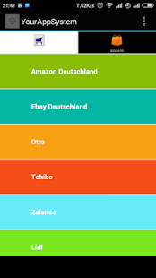 alles in einem Online-Shopping - screenshot