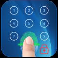 fingerprint Lock screen prank &fingerprint applock