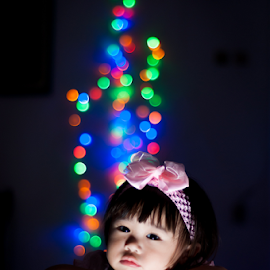 dreamy by Martin Marthadinata - Babies & Children Child Portraits ( children, portraits, bokeh, kids portrait, portrait,  )