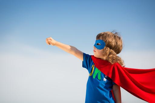Superheld Kind