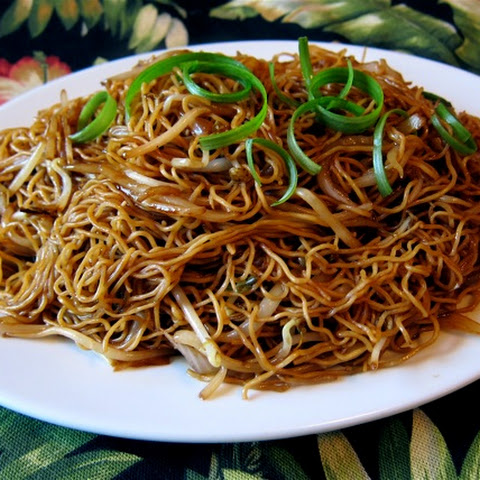 Chi You Chao Mian (Soy Sauce Chow Mein)