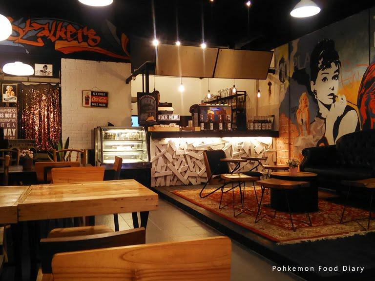 Interior stalkers cafe malaysia food restaurant reviews for Food bar kota damansara