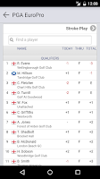 Screenshot of PGA EuroPro Tour