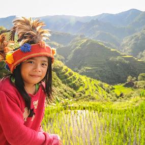 RIce Terraces by Jeremy Mendoza - Babies & Children Child Portraits ( mountain, banaue, travel, landscape, philippines )