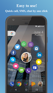 Contacts Widget Screenshot