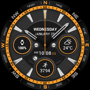 Dynamic Watch Face Screenshot