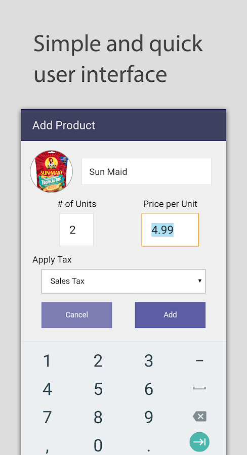 Spent - A Grocery Calculator Screenshot 4