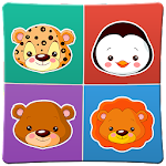 Animals memory game for kids 2 file APK Free for PC, smart TV Download