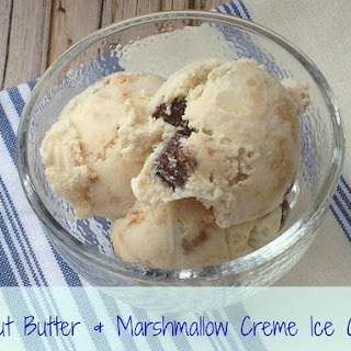 Peanut Butter & Marshmallow Creme Ice Cream