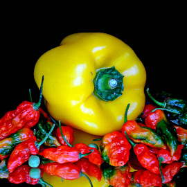 REd n yelloow by Asif Bora - Food & Drink Fruits & Vegetables
