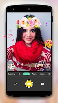 Face Camera-Snappy Photo APK screenshot thumbnail 1