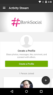 #BankSocial - screenshot