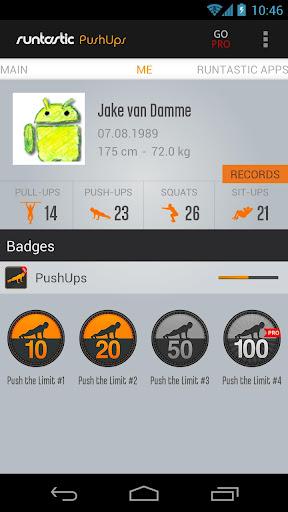 Runtastic Push-Ups Counter & Exercises screenshot 5