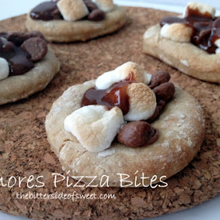 S'mores Pizza Bites