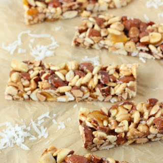 Mango Coconut Nut Snack Bars