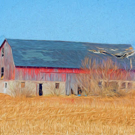 Long Gone by John Kehoe - Buildings & Architecture Decaying & Abandoned ( old, barn, ruins, abandon, rustic, antique, abandoned )