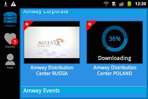 MP Amway UK & Ireland - screenshot