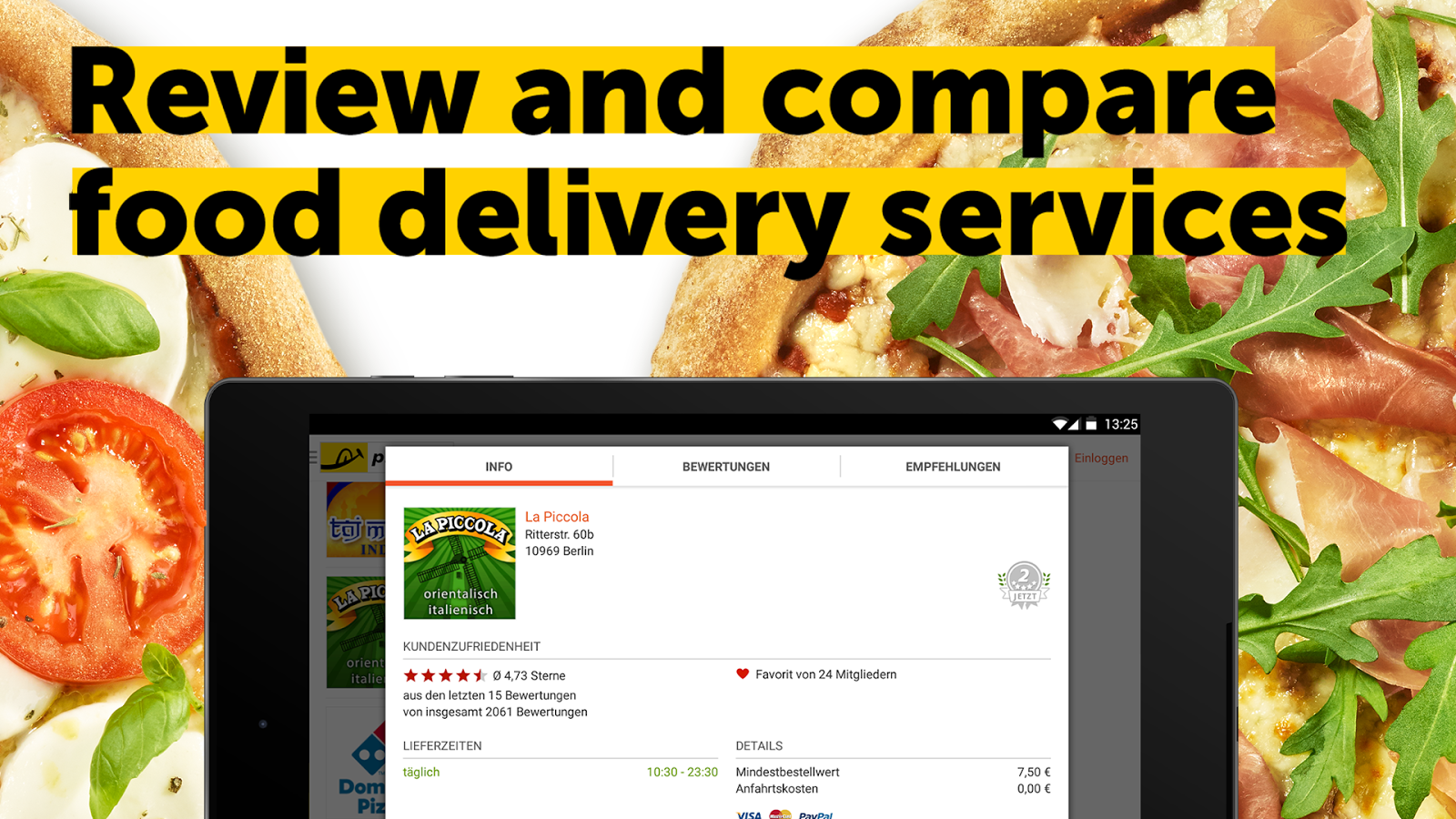 pizza.de - order food online Screenshot 18